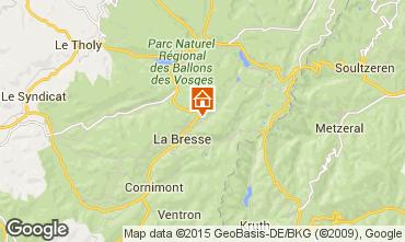 Karte La Bresse Hohneck Appartement 4534
