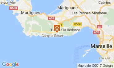 Karte Carry le Rouet Villa 112762