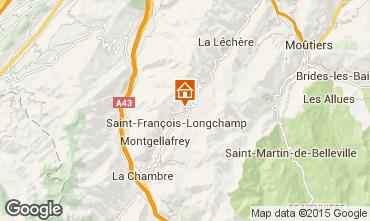 Karte Saint François Longchamp Chalet 77938