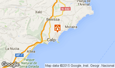 Karte Calpe Villa 53240