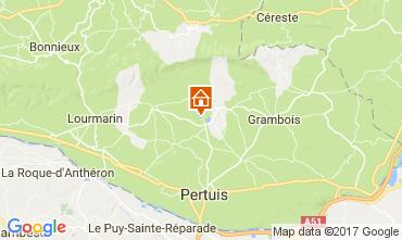 Karte Lourmarin Villa 108812