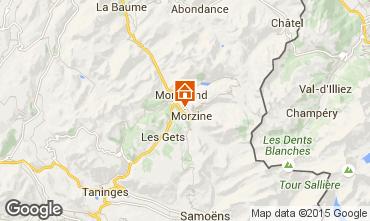 Karte Morzine Appartement 28154