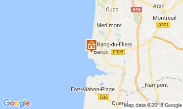 Karte Berck-Plage Haus 113573