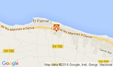 Karte Dénia Villa 103619