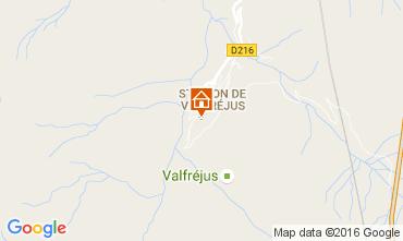 Karte Valfréjus Studio 107072
