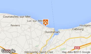 Karte Ouistreham Haus 70424