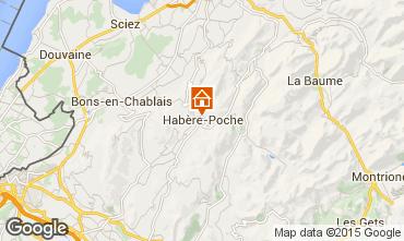 Karte Les Habères Studio 76566