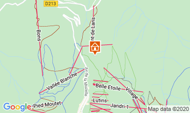 Karte Les 2 Alpes Chalet 33878