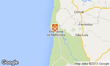 Karte Vila nova de Milfontes Appartement 45283