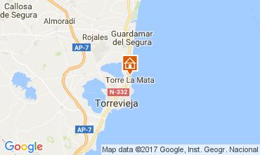 Karte Torrevieja Appartement 109947