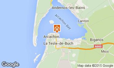 Karte Arcachon Appartement 21709