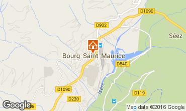 Karte Bourg Saint Maurice Appartement 98749