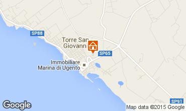 Karte Ugento - Torre San Giovanni Appartement 94615