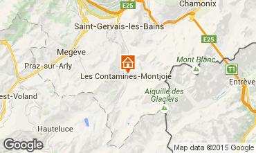 Karte Les Contamines Montjoie Chalet 27332