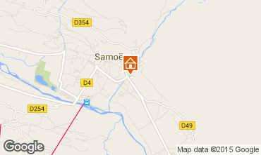 Karte Samoëns Chalet 80254