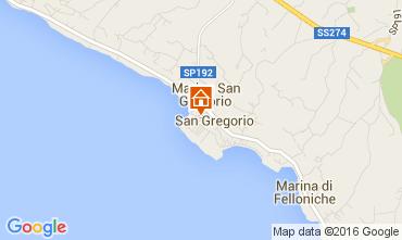 Karte Santa Maria di Leuca Haus 104045