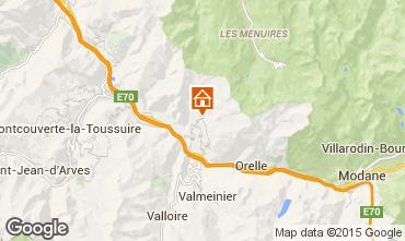 Karte Saint Jean de Maurienne Ferienunterkunft auf dem Land 68664
