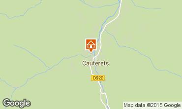 Karte Cauterets Appartement 4059