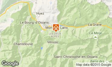 Karte Les 2 Alpes Studio 100739