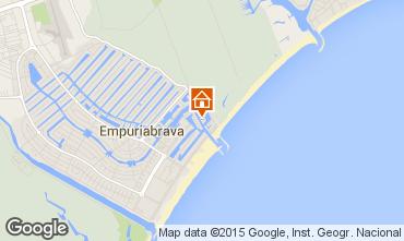 Karte Empuriabrava Appartement 76504