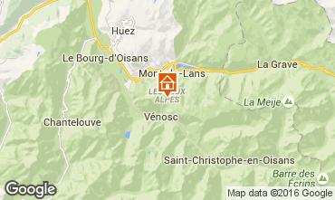 Karte Les 2 Alpes Studio 88307