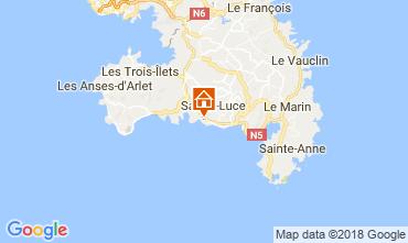 Karte Sainte Luce Bungalow 114766