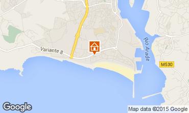 Karte Praia da Rocha Appartement 85921