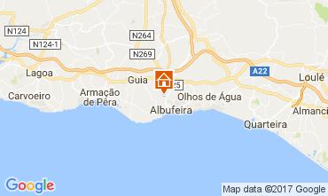 Karte Albufeira Appartement 111805