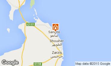 Karte Djerba Villa 51947