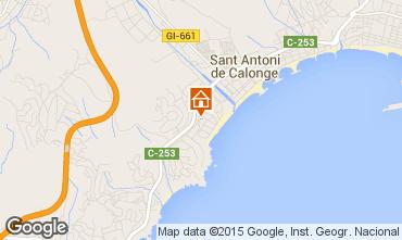 Karte Sant Antoni de Calonge Haus 63686