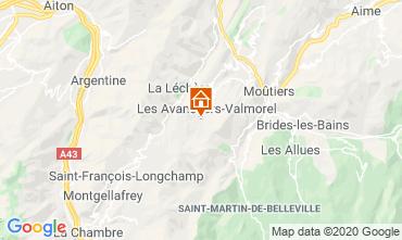 Karte Valmorel Appartement 49915