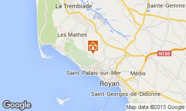 Karte Royan Villa 75631