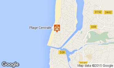 Karte Hossegor Appartement 6468