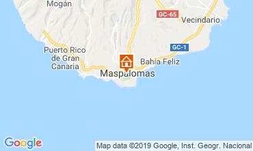 Karte Maspalomas Appartement 104988