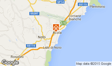 Karte Avola Appartement 86257