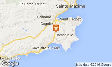 Karte Saint Tropez Mobil-Home 103202