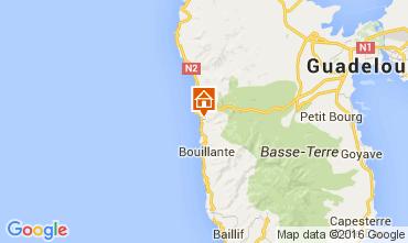 Karte Bouillante Ferienunterkunft auf dem Land 103675