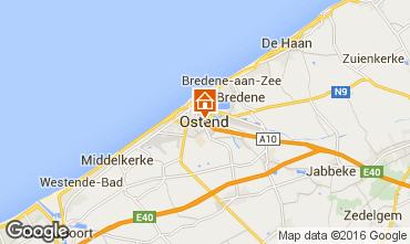 Karte Ostende Appartement 75999