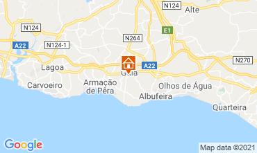 Karte Albufeira Villa 83571