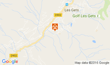 Karte Les Gets Chalet 106955