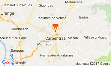 Karte Carpentras Haus 111658