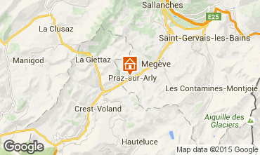 Karte Praz sur Arly Appartement 73196