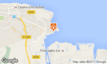 Karte Arcachon Appartement 81764