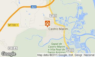 Karte Castro Marim Appartement 87215