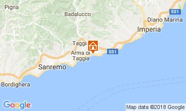 Karte Santo Stefano al Mare Studio 112994