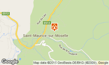 Karte Gérardmer Chalet 4643
