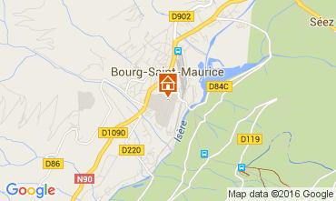 Karte Bourg Saint Maurice Appartement 106036