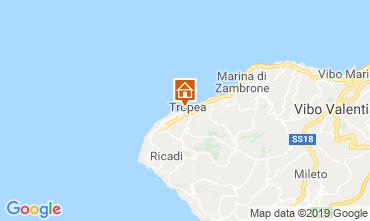 Karte Tropea Appartement 113977