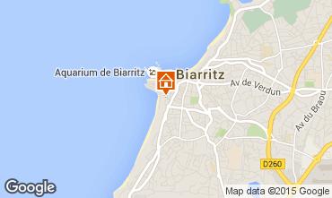 Karte Biarritz Appartement 15275