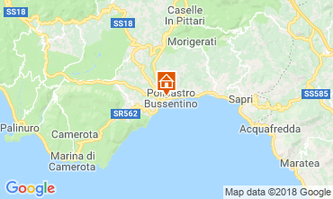 Karte Policastro Bussentino Appartement 82863